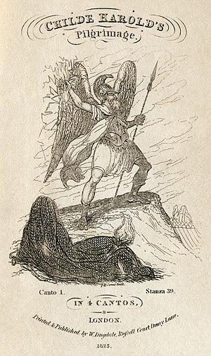 Childe Harold's Pilgrimage - Image: Lord Byron Childe Harold's Pilgimage Dugdale edition