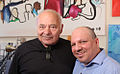 Lorenzo Tartamella and Burt Young.jpg