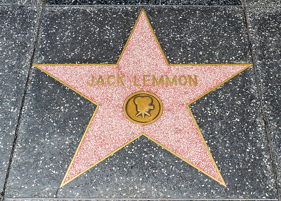 Los Angeles (California, USA), Hollywood Boulevard, Jack Lemmon -- 2012 -- 4999