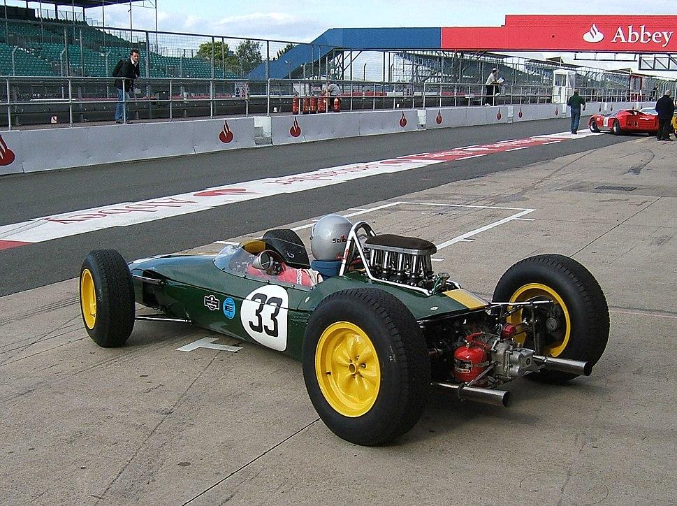 Lotus 33 Silverstone