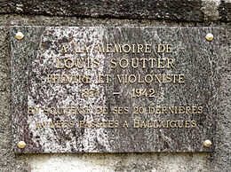 Louis Soutter cimetiere Ballaigues plaque commemorative.JPG
