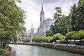 Lourdes-Basilique Gave.JPG