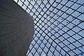Louvre pyramid from below - panoramio.jpg