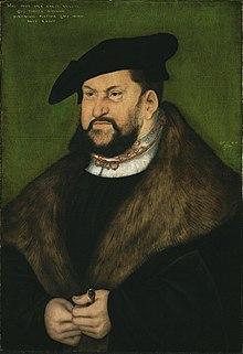 Johann der Beständige, 1526 (Lucas Cranach d. Ä.) (Quelle: Wikimedia)