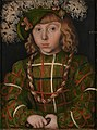 Lucas Cranach the Elder - Portrait of Johann Friedrich the Magnanimous - Google Art Project.jpg