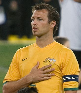 Lucas Neill - Neill with Australia in 2007