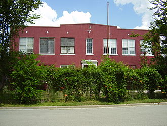 East Downtown Houston - The former Luckie School