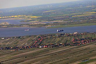 Hollern-Twielenfleth - Aerial view