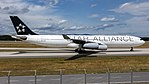 Lufthansa (Star Alliance livery) Airbus A340-300 (D-AIFA) at Frankfurt Airport.jpg
