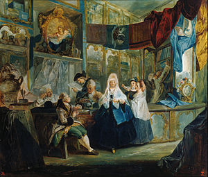 1770 in Spain - Luis Paret y Alcázar - The Shop - Google Art Project