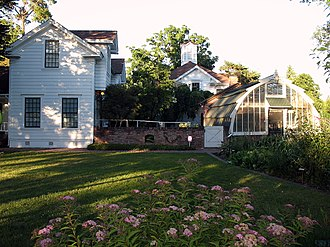 National Register of Historic Places listings in Sonoma County, California - Image: Luther Burbank House and Garden, 200 Santa Rosa Ave., Santa Rosa, CA 6 12 2010 7 45 52 PM