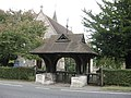 Lych Gate, Emmanuel Church, Sidlow Bridge, Surrey - geograph.org.uk - 1539857.jpg