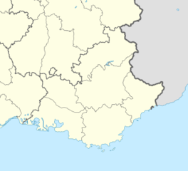 Modène is located in Provence-Alpes-Côte d'Azur