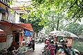 Một phần chợ trên phố Ngô Gia Tự, gần ngã ba phố Ngô Gia Tự giao với phố Chi Lăng, thành phố Hải Dương, tỉnh Hải Dương.jpg
