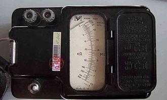 Megohmmeter - Megohmmeter M1101M.