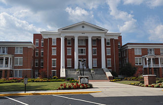 Louisburg College - Image: MAIN BUILDING, LOUISBURG COLLEGE, FRANKLIN COUNTY, NC