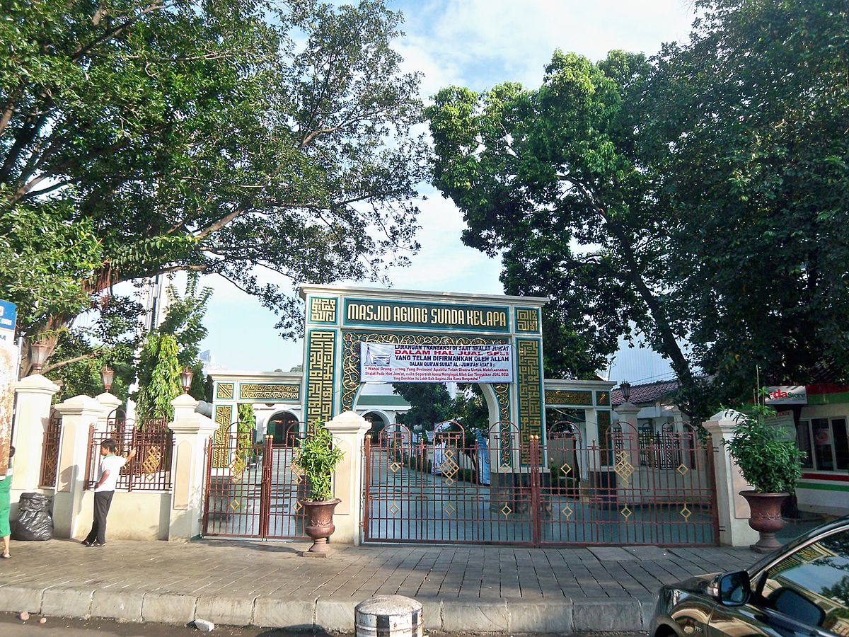 Image result for masjid sunda kelapa menteng