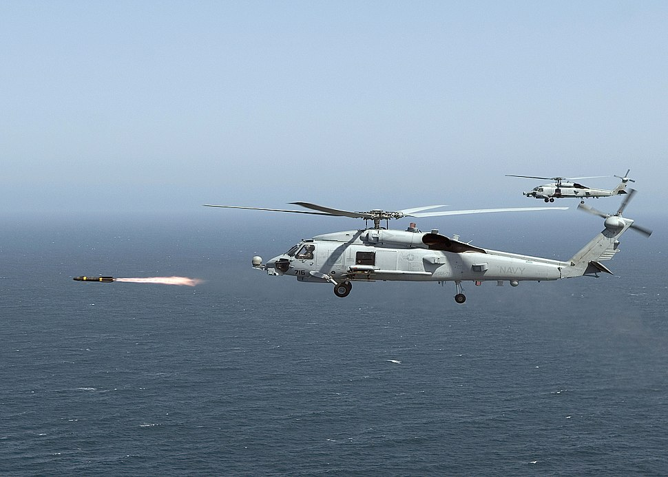 MH-60R Seahawk and Hellfire