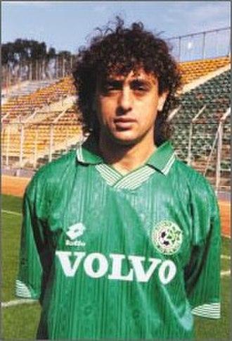 Maccabi Haifa F.C. - Reuven Atar, played 10 years in the club.