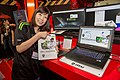 MSI staff and WT72 6QN, Computex Taipei 20160531.jpg