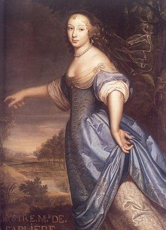 Marguerite de la Sablière - Image: Madame de la Sablière