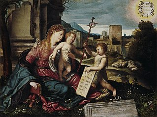 Madonna with Child and the Young St. John