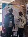 Mahuton et Fawaz à la wikiconvention'19 à Bruxelles.jpg