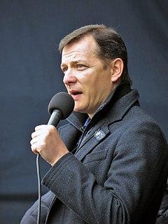 Oleh Lyashko Ukrainian politician
