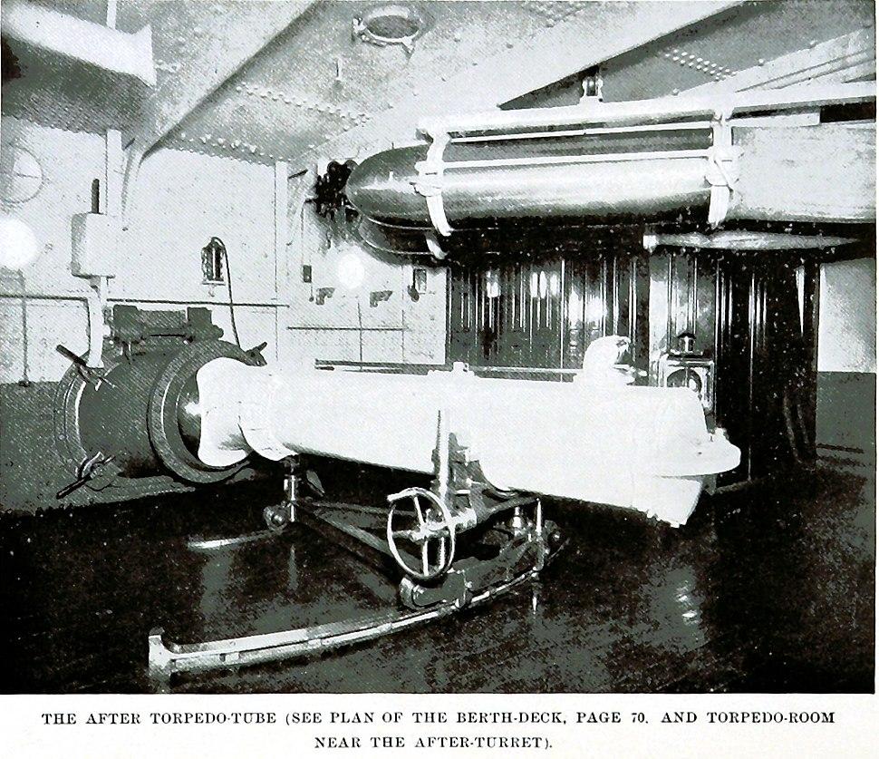 Maine after torpedo-tube
