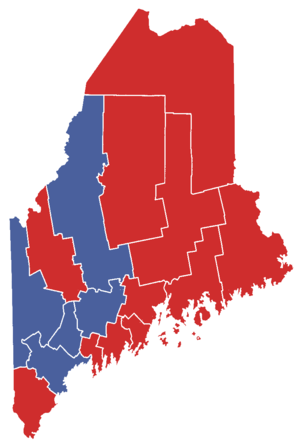 United States Senate election in Maine, 1996 - Image: Mainegovelection 1990