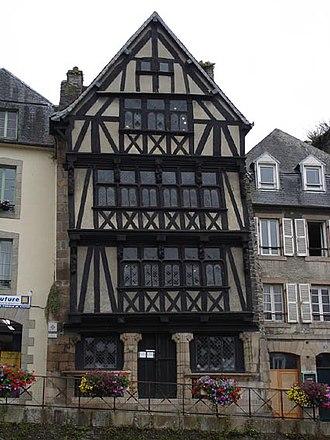 Morlaix - Image: Maison dite de la duchesse Anne – Morlaix.2