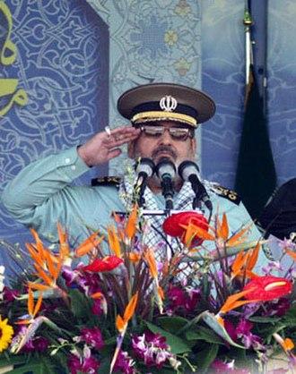 Order of Independence (Iran) - Image: Major general Hassan Firouzabadi