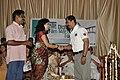 Malavika Wales receives Jalachhayam award.jpg