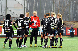 Umeå IK - Before a match in April 2013