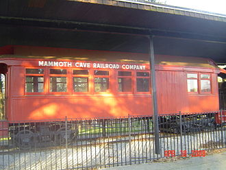 Mammoth Cave Railroad - Mammoth Cave Railroad coach No. 2