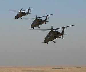 Agusta A129 Mangusta - Three A129s in Iraq