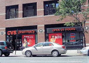 Shopping hours - A CVS/pharmacy in New York City that is open 24/7, but remains closed on Easter, Thanksgiving, and Christmas Day
