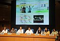 Manish Tewari addressing at the launch of the Bharat Nirman Online Portal and AIR Free News SMS Service, in New Delhi. The Secretary, Ministry of Information and Broadcasting.jpg