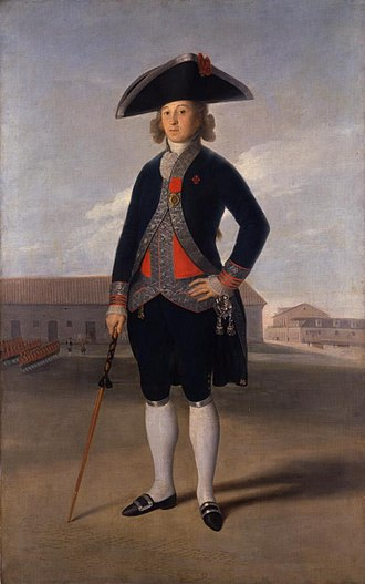 Siege of Cádiz - Portrait of General Manuel la Peña, commander of the Coalition forces that attempted to relieve the siege