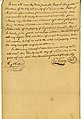 Manumission of slave, Francois, by Auguste Chouteau, signed Aug. Chouteau, Henry Chouteau, and T.F. Smith, September 26, 1826.jpg