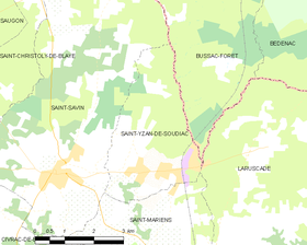 Map commune FR insee code 33492.png