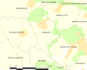 Map commune FR insee code 60675.png