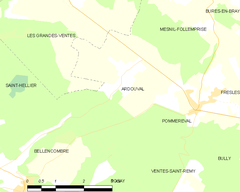 Map commune FR insee code 76024.png