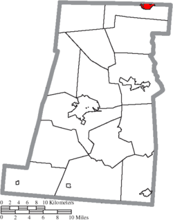 Location of Plain City in Madison County
