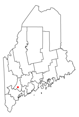 Map of Maine highlighting Auburn.png