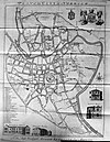 100px map of norwich 1781