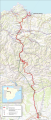 Map pajares pass route.png