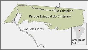 Mapa Parque Estadual Cristalino - Brasil.jpg