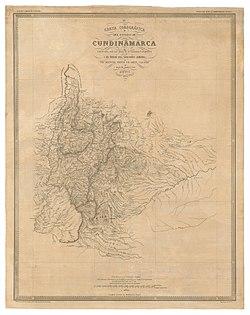 Mapa del Estado de Cundinamarca (1865).jpg