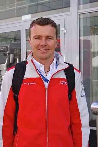 Marcel Fässler (racing driver) - Fässler in 2013
